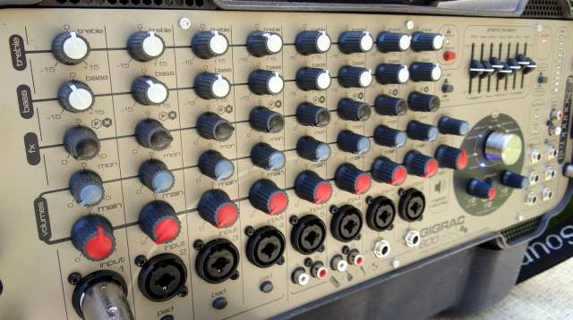 Dials, buttons, and knobs