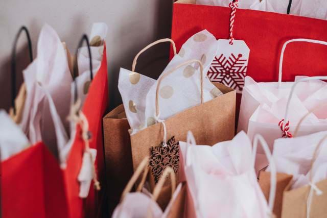 A Collection of Brown Gift Bags