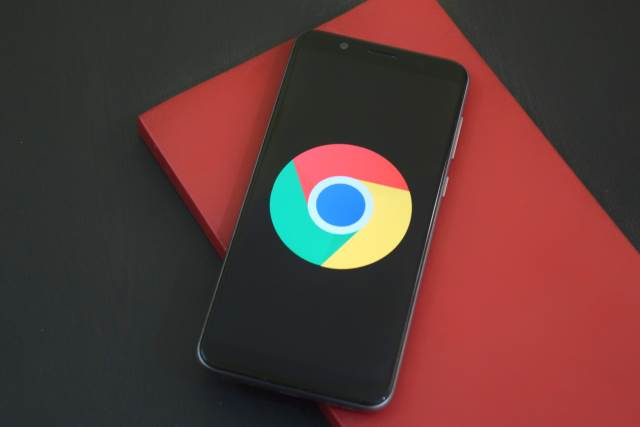 Chrome Logo/Browser on Android Phone