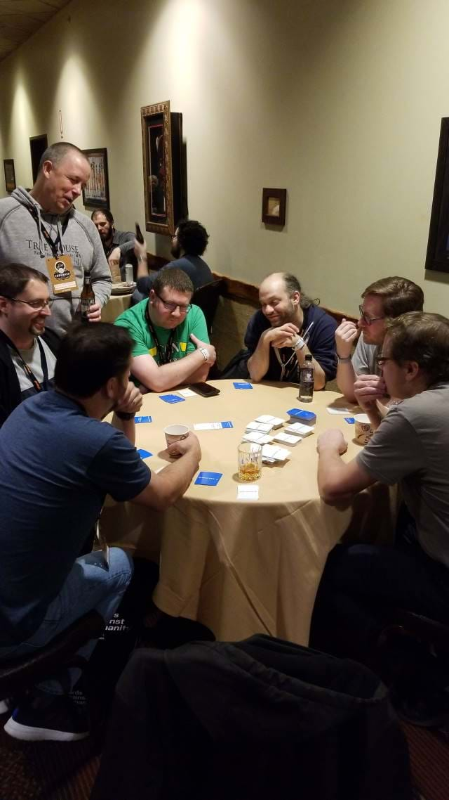 Playing Disrupt Cards with some friends
