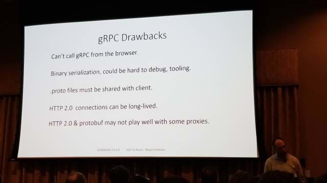 Drawbacks to gRPC