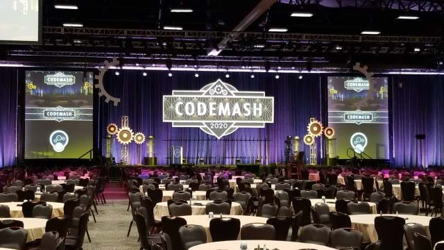 Empty Main Hall at Codemash