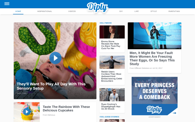 Diply.com Screenshot