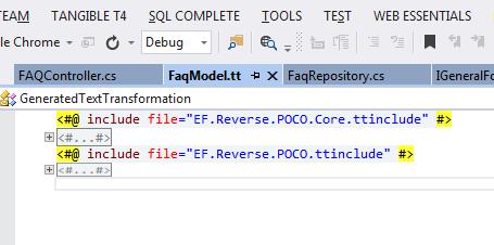 FaqModel.tt Results
