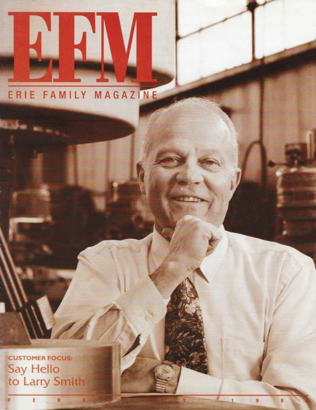 EFM (Erie Family Magazine) Cover of February 1996 Edition
