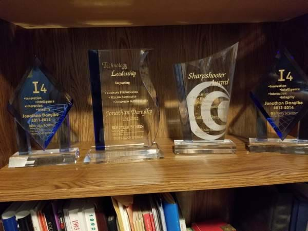 Humbled by Four awards I received from a company