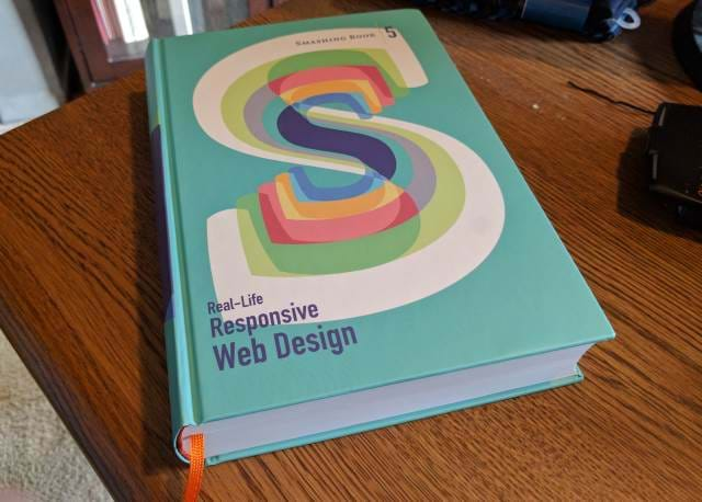 Real-World Responsive Web Design Book Cover by Smashing Magazine