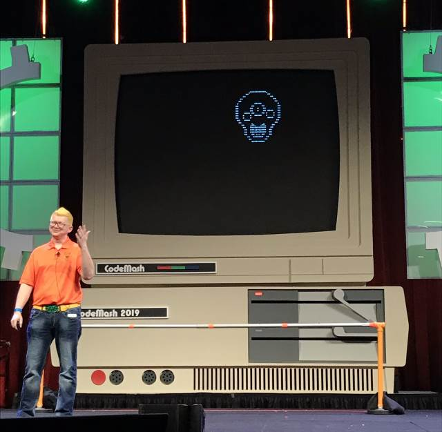 Brian Prince at Codemash 2019