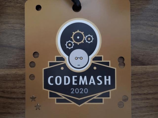 Andrew's Codemash Lanyard