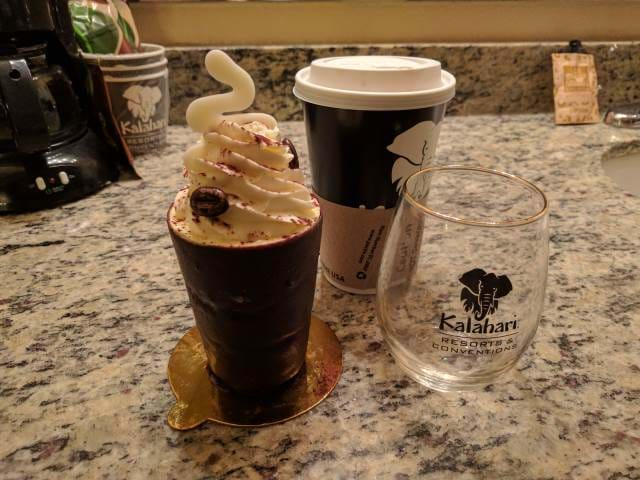Coffee and Pastry from the Kalahari in Sandusky, OH