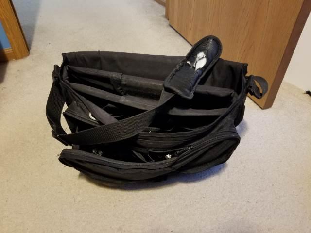 Old Solo Messenger Bag
