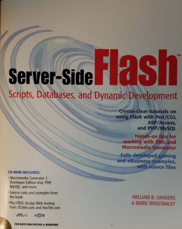 Server-side Flash Book Cover