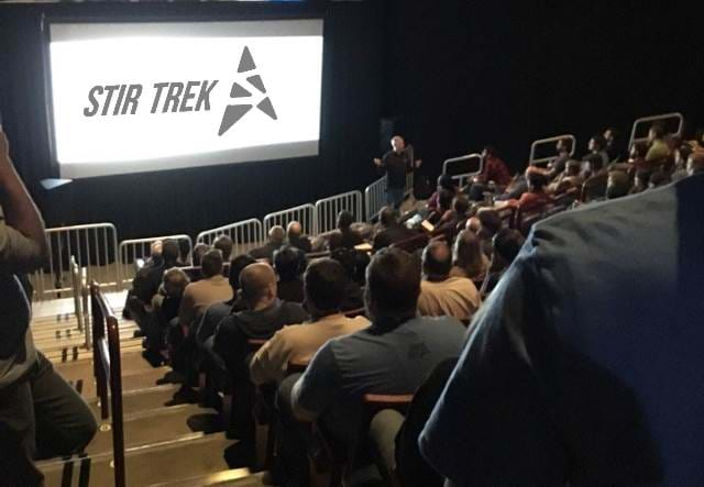 People sitting at the Schottenstein center for the Stir Trek conference
