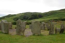 Stone Circles in an Area